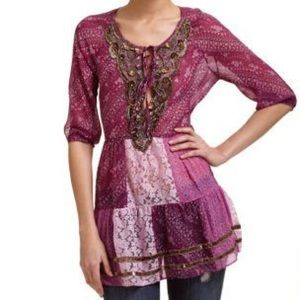 ✌🏻Free People Patchwork Tunic✌🏻